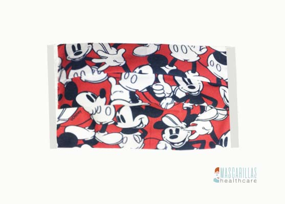 Mascarilla higiénica Mickey Mouse Red